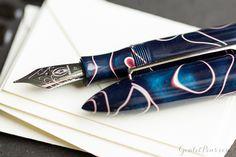 Goulet Pens Blog: Edison Nouveau Premiere Midnight Thunder Fall 2015 SE Fountain Pen