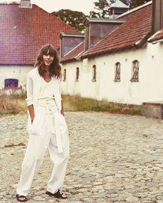 Freja Beha Erichsen by Cass Bird for Vogue UK January 2014