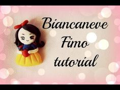 ♡ Biancaneve in fimo - tutorial / Snow White Polymer Clay - Tutorial ♡