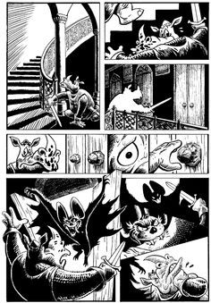 """Page 3 of """"Ominous Origin of Rhinosferatu"""" - published in Historyonics by Cloudscape Comics World Wildlife Federation, Superhero, The Originals, Comics, Abstract, Artwork, Cards, Animals, Summary"""