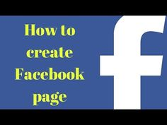 how to create facebook page(speak khmer)-របៀបនៃការបង្កើតទំព័រ Facebook - YouTube