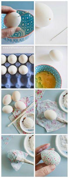 Διακόσμηση Πασχαλινών Αυγών Easter Crafts, Decoupage, Diy And Crafts, Sweet Home, Eggs, Projects, Holidays, Bottle, Nature