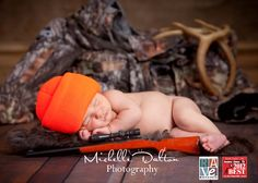 Newborn hunting pictures