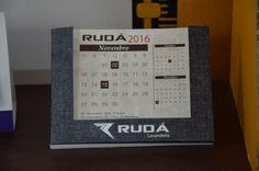 Calendario Rudá Criação minha #Qualygraf