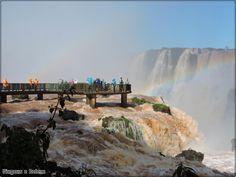 Passarela até a Garganta do Diabo - Cataratas do Iguaçu - Foz do Iguaçu/PR - Julho 2014