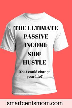 Looking for ways to start a business with no money? You can become an entrepreneur with this passive income idea!  Learn how to sell shirts online with no start up costs.