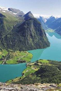 Oldevatnet, Norway ◉ re-pinned by http://www.waterfront-properties.com/junobeachrealestate.php
