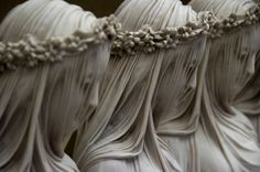 Sisters of Mercy, marble  by Raffaele Monti