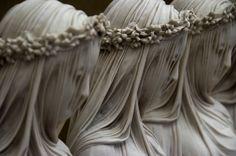 Sisters of Mercy, marble  by Raffaele Monti