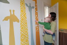 My Mural Method - A Tutorial From Milomade. This is a blog post that describes the process I used to paint a giraffe mural onto my son's bedroom wall. I hope it inspires people to paint some murals somewhere!