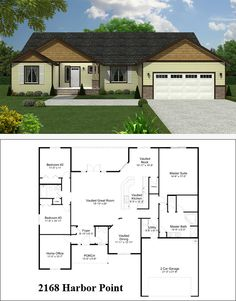 44 Best Single Story Floor Plans images | Floor plans, House floor  Sq Ft Floor Plans One Storey House Html on