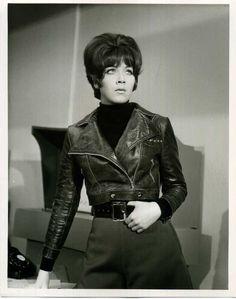 Linda Thorson as Miss Tara King on The Avengers