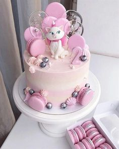 Happy birthday cake: The latest birthday images.Hi welcome guys hope you enjoyi. Baby Girl Cakes, Baby Birthday Cakes, Happy Birthday, Lollipop Cake, Cupcake Cakes, Pretty Cakes, Cute Cakes, Bolo Halloween, Rodjendanske Torte
