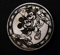 Hobo Nickel Mickey Minnie Mouse Dancing Hand Engraved By Ronald Proulx Mickey Love, Mickey Minnie Mouse, Hobo Nickel, Coin Art, Hand Engraving, Cool Items, Buffalo, Dancing, Coins
