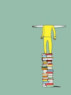 Libri, che passione: Scarabottolo la disegna così