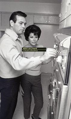 David Janssen and wife Ellie
