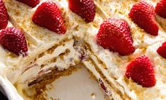 Ingredients Low-Fat Graham Crackers 8 oz. fat free cream cheese (softened) 1 cup cold skim milk 2 Tblsp. lemon juice 1 small box instant vanilla pudding (sugar free) 8 oz. fat free Cool Whip 1 can lite cherry pie filling (or any flavor) HOW TO MAKE: Line the bottom of a 9 x 13 pan […]