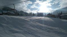 Es verspricht, ein weiterer schöner Skitag zu werden in #Annaberg in der #Skiregion #Dachstein West Snow, Mountains, Nature, Travel, Outdoor, Ski, Vacation, Nice Asses, Outdoors