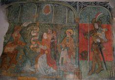 Peinture murale Gimel les Cascades