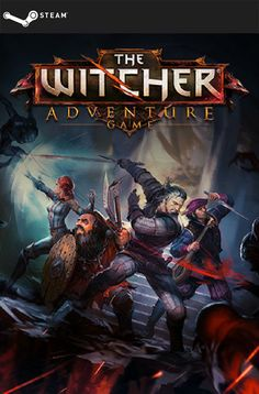 The Witcher Adventure Game (STEAM GIFT) DIGITAL 4,17€