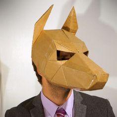 Doberman Dog Mask - Wintercroft - 1