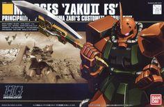 MS-06FS Zaku II (Garma Zabi Color) from Mobile Suit Gundam MSV