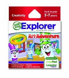 LeapFrog Explorer Learning Game: Crayola Art « Game Searches