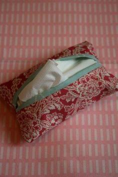 DIY Tutorial DIY Tissue Holder / DIY Tissue Holder - Bead&Cord