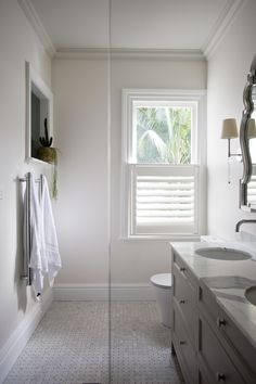 In love with the ensuite bathroom in our recent Kirribilli project