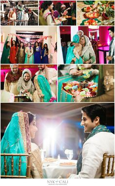 Nyk + Cali, Wedding Photographers | Nashville, TN | South Asian Wedding Photography | Pakistani | Mehndi | Celebration | Downtown Hilton Hotel | Hindu Ceremony | Bride + Groom Entrance