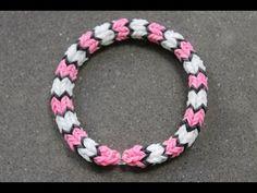 Rainboow Loom - Savannah Bracelet (Original Design) English version - Loom bands - YouTube