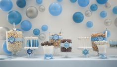 Blue 'POP' Themed Shower | hi note – custom invitations and stationery