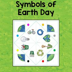 Cootie Catchers / Fortune Tellers - Earth Day by Chez Chris Earth Science Projects, Earth Day Projects, Earth Day Crafts, Earth Day Activities, Activities For Kids, French Lessons, Spanish Lessons, Sunday School Crafts, Handmade Books