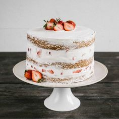 Pastry Affair | Strawberry Layer Cake