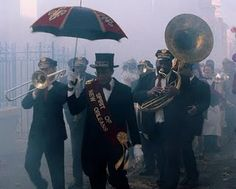 I don't know how my survivors are gonna pull it off but I want a New Orleans Jazz Band funeral when I go.