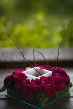centro de mesa para boda fusia - Buscar con Google