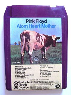 Pink Floyd, Atom Heart Mother, QUADROPHONIC 8-TRACK