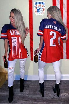 56c215617 Team USA 2nd Amendment Football Jersey v2