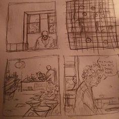 Workin' on this lil mini comic about my grandma's estate sale #comics #comic #art #draw #drawing #artist