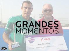 Grandes Momentos del Hockey sobre Césped - Juan Manuel Vivaldi mejor jugador del partido en el #CT2014 #hockey #arqueros #obo #OBOArgentina #JuanmaVivaldi #goalkeepers #HeroeOfTheMatch #TheBestOfTheBest #personasincreibles #arquerosreales