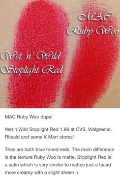 Mac ruby woo dupe
