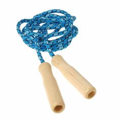 $1.49 ea Wood Handle Jump Rope | Party Supply Store | Novelty Toys | Carnival Supplies | USToy.com