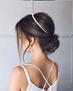 newest short hair updo hairstyle ideas 24 ~ my.me newest short hair updo hairstyle . Wedding Bun Hairstyles, Bridal Hair Updo, Romantic Hairstyles, Short Hair Updo, Curly Hair Styles, Quiff Hairstyles, Creative Hairstyles, Braided Hair, Wedding Hairstyles