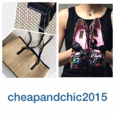 """Today's Fashionista goes by the Insta handle """"cheapandchic2015"""" and let me tell you, she's on a roll this year with her Goodwill finds. From designer bags to stylish workout gear, this gal has already racked up some fabulous finds. From what I can tell so far, cheapandchic2015 has a vintage, pinup style. She's scored some fabulous shoes that have the perfect amount of pinup flair. Love!"""