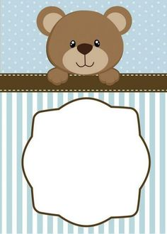 Baby shower invitaciones ositos 22  Ideas #babyshower #baby