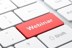 A few quick tips on using webinars to help generate business opportunities.