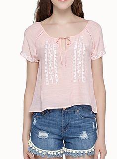 BOHO EMBROIDERY BLOUSE size Small chez Simons  http://www.simons.ca/simons/product/5196-2216/Blouses+%26+Shirts/Boho+embroidery+blouse?/en/&catId=6673&colourId=85