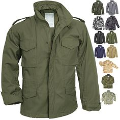 Camo Military M-65 Field Coat Camouflage Army M65 Tactical Uniform Jacket  M1965  ArmyUniverse e371e3ca2