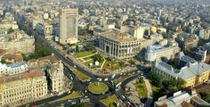 Bucharest city view , Romania.