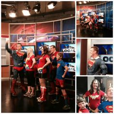 Thank you to YLS members Pat Hayes, Maggie Nestheide and Tiffany Clark (and her two great sons) for getting up early to be part of an interview with Adam Clements on ‪#‎Local12‬ to promote the ‪#‎superherorunforkids‬ tonight Downtown. Find out how to join these caped crusaders at www.prokids.org
